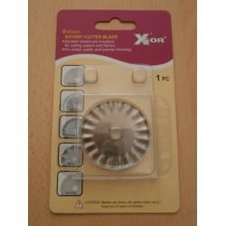 Острие за ръчен дисков нож ,зиг-заг ,ф 45 мм DW-RB001P
