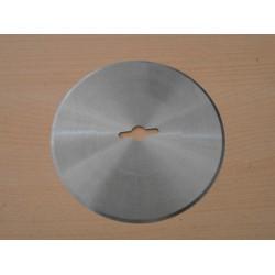 НОЖ дисков за Hoogs 130x10x1,5мм (отв.25х10х4) HSS