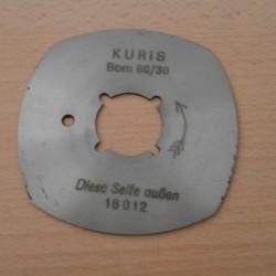 Circular knife for Kuris BOM 80/30 WS