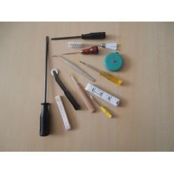 Инструменти, допълнителни приспособления, устройства и други